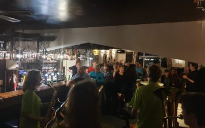 Jubileum bij café Barrelzz